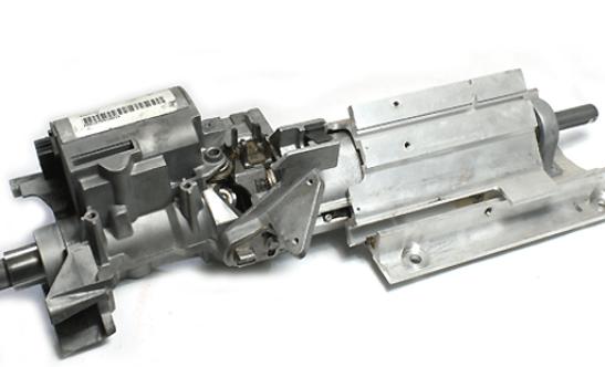 land rover steering column
