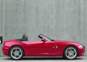 2005 BMW Z4 M Roadster E85 car specifications, auto