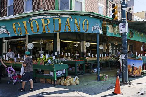 Philadelphia street market