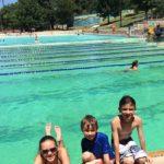 Deep Eddy Pool in Austin. Austin Pool for Kids