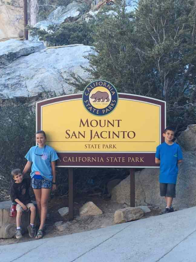 Take the Palm Spring Aerial Tram for summer hike at Mount San Jacinto.