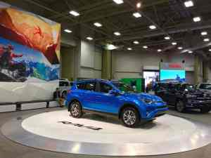 Shop an auto show for convenient vehicle shopping