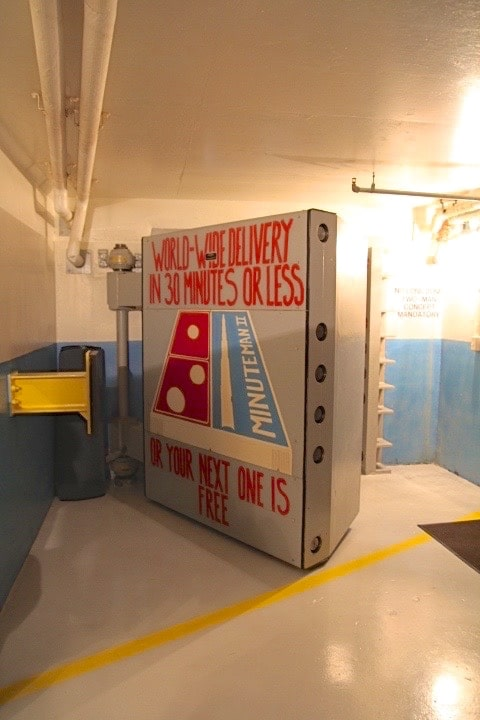 Explore the underground facility at the Minuteman Missile Site in South Dakota.