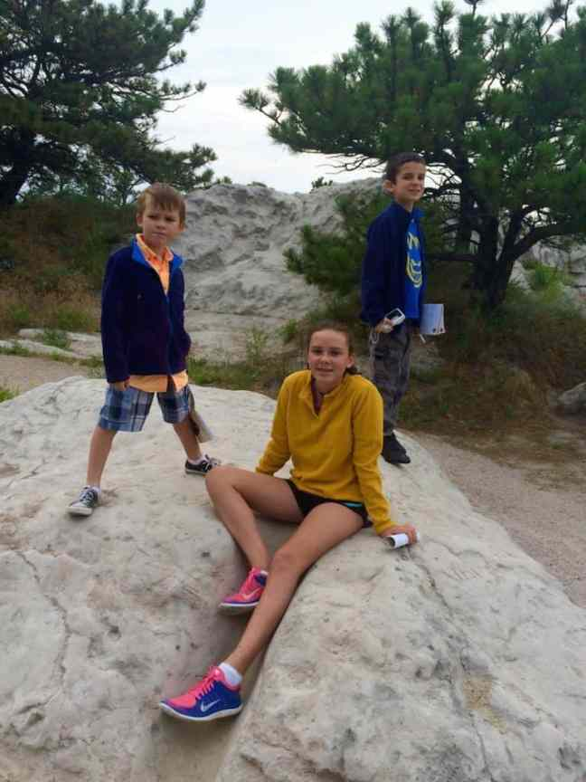 Visit the Scotts Bluff Summit with the kids.