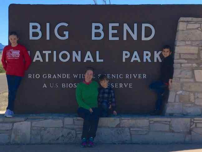 Explore the National Park sites of Texas, like Big Bend.