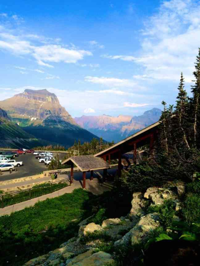 Logan Pass Visitor Center is one of the things to do in Glacier National Park with kids.