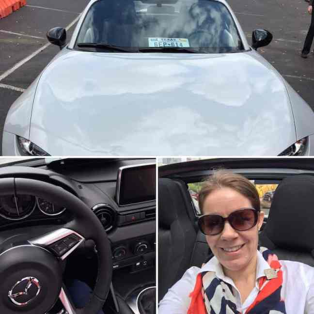 Try on the Mazda MX-5 to have some top down fun.