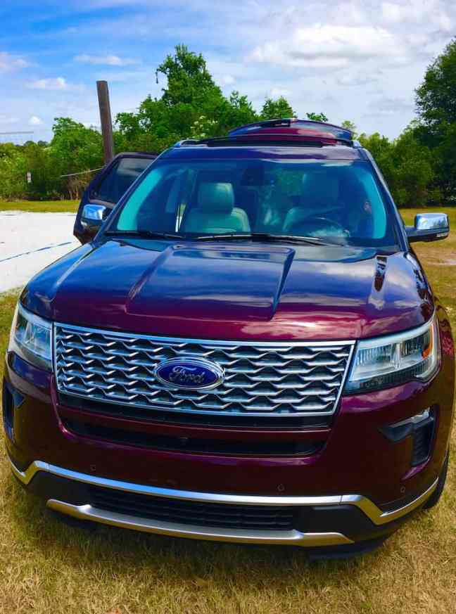 Experience the 2018 Ford Explorer for safety and style.