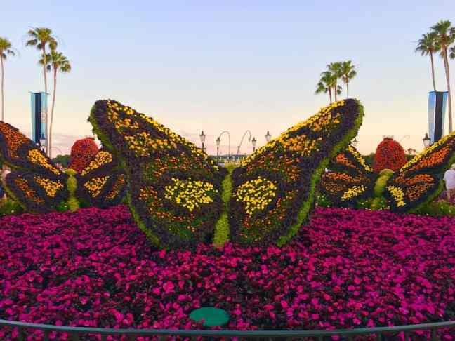 Enjoy the topiaries at Epcot's Flower and Garden Festival with kids.