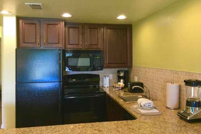 A kitchenette is great for family trips and I love Mystic Dunes for families.
