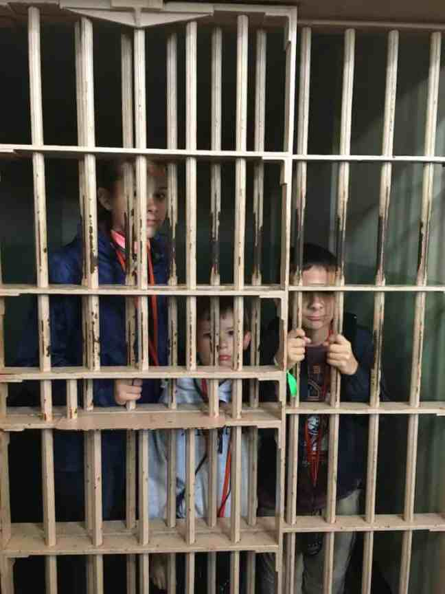 Lock the kids up when you tour Alcatraz with kids.