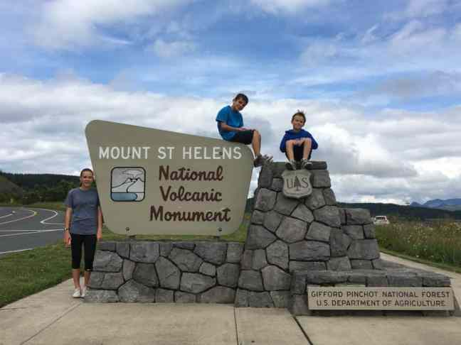 Explore Mount St. Helens with kids.