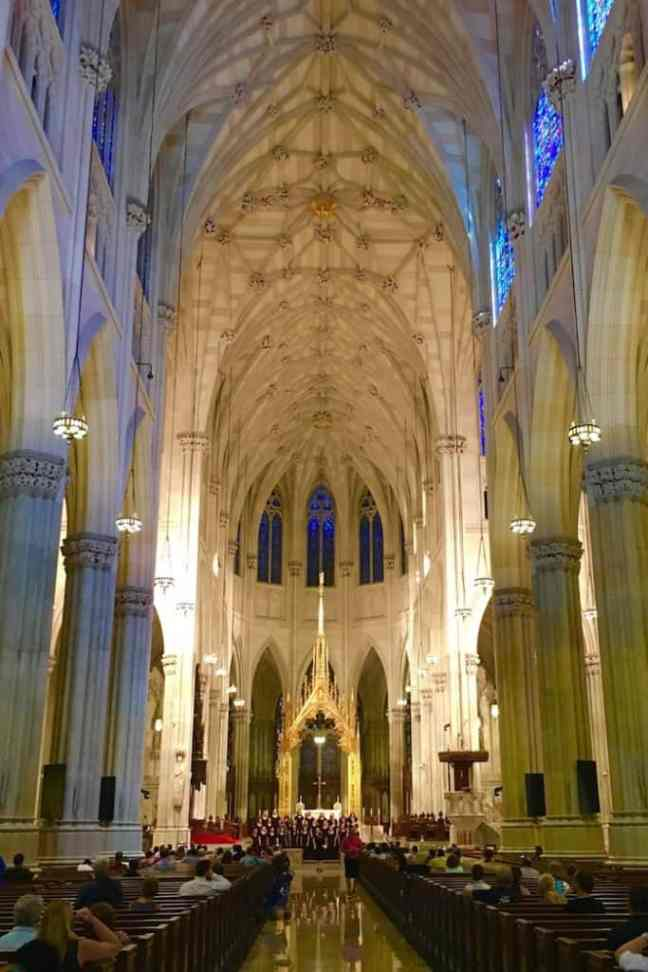 Tour St. Patrick's Cathedral during your 4 day NYC itinerary.