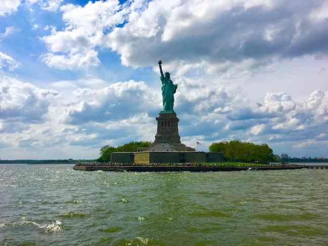 Visit the Statue of Liberty during your 4 day NYC itinerary.