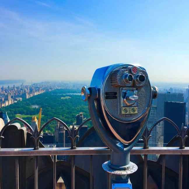 Tour the Top of the Rock during your 4 Day NYC itinerary.