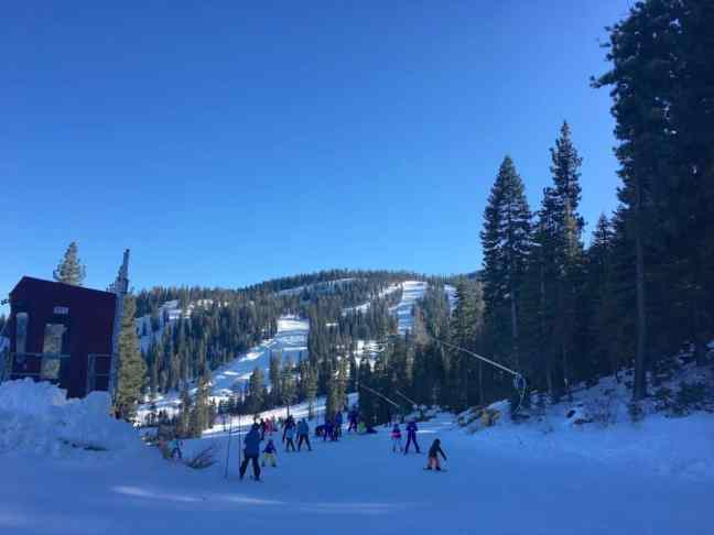 Enjoy Northstar Ski Resort best ski lessons for kids in Lake Tahoe