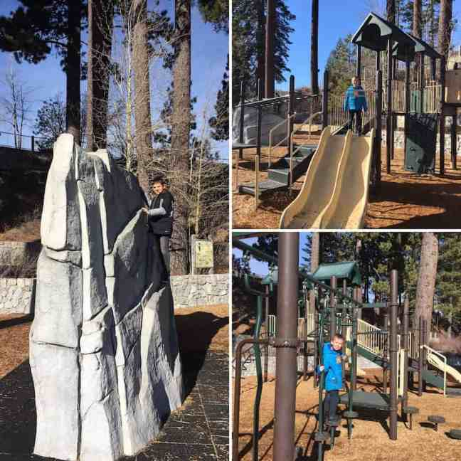 Visit the Playground, What to do in Tahoe City with Kids.