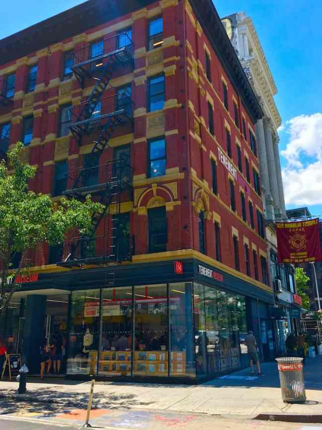 Visit the East Side Tenement Museum during your trip. A top museum for Kids in NYC.