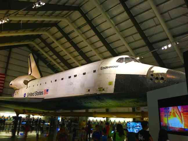 California Space Science Center, where to go in LA with Kids.