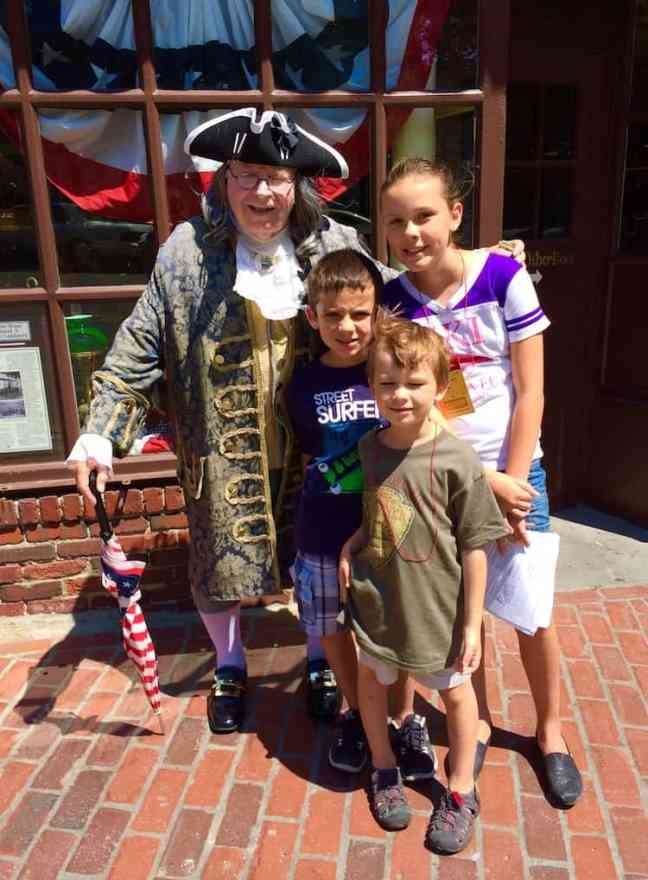 See Ben Franklin. See Boston With kids in One day.