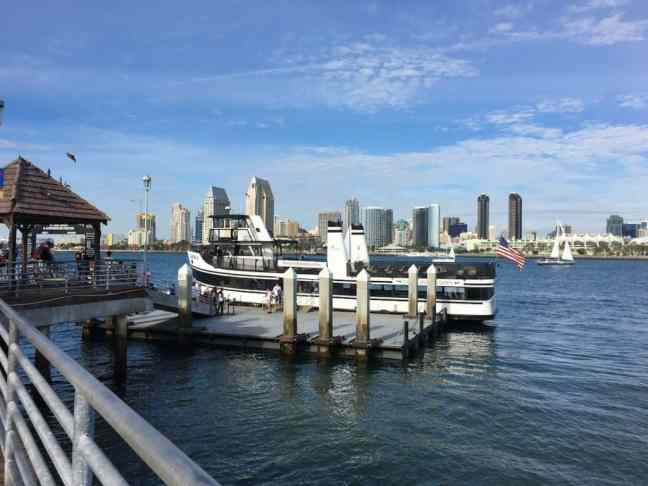 Coronado Ferry. Where to go in San Diego with kids.