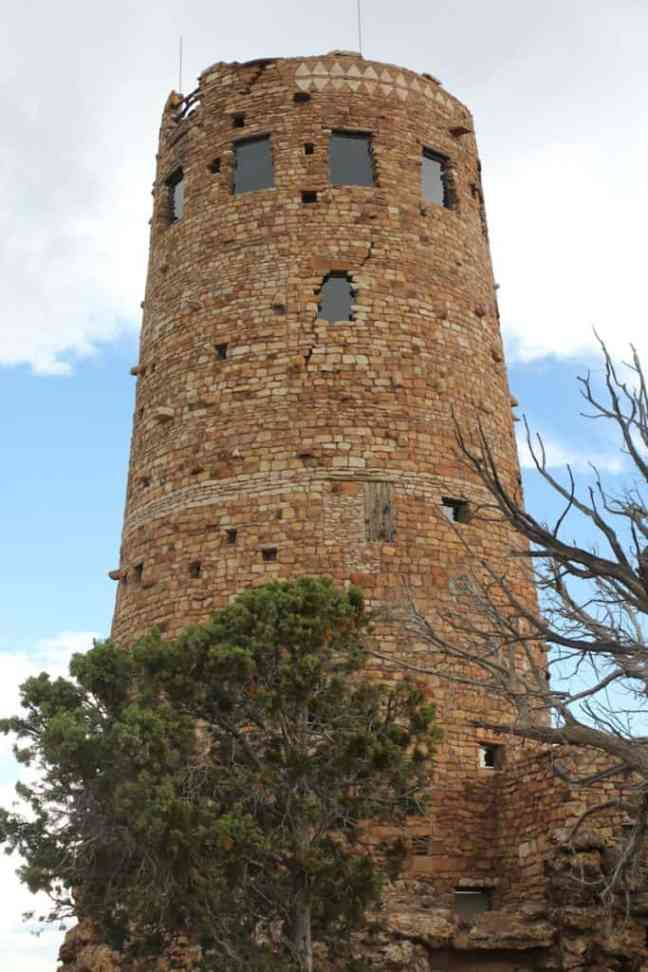 Visit Desert View Watchtower. What to do at the Grand Canyon with Kids.
