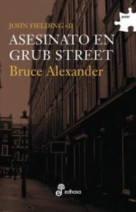 Asesinato en Grub Street de Bruce Alexandre
