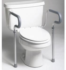 Barandales chasis de seguridad para WC