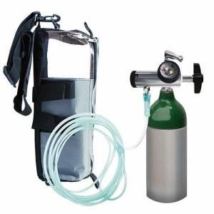 Equipo de oxígeno portátil de 113 litros con regulador