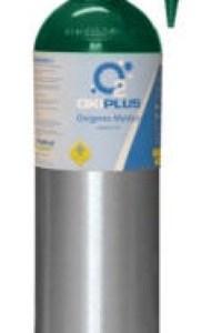 Equipo de oxígeno portátil de 425 litros con regulador