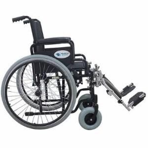 Silla de ruedas con llantas neumáticas