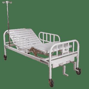 Cama tipo hospital manual R217001