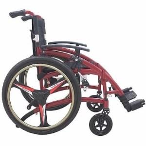 Silla de ruedas de aluminio Ultra THP