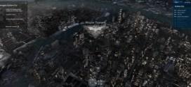 Gotham City Map: Navegación 3D por Ciudad Gótica