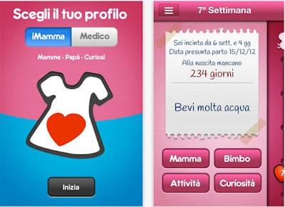 iPhone app Imamma