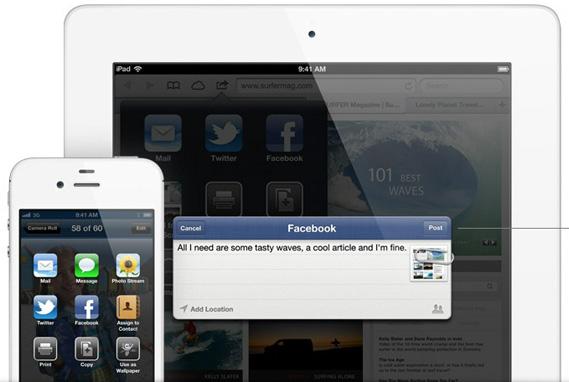 iOS 6 iPhone iPad