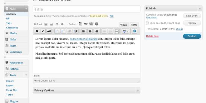 Publicando en WordPress