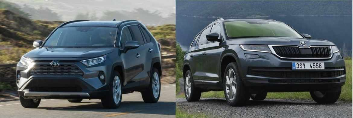 Toyota RAV4 Beats Skoda Kodiaq in Europe … So Far