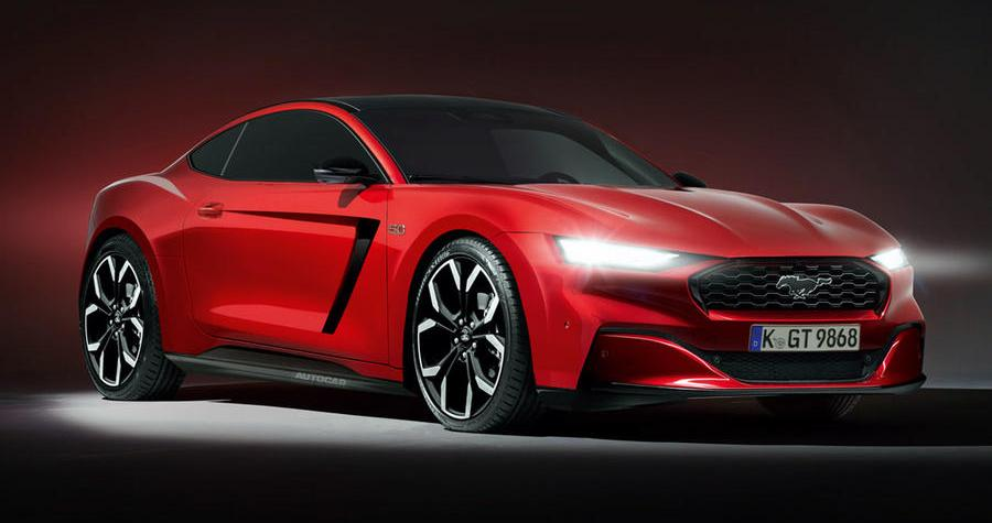 Next-gen Ford Mustang Arrives in 2022 with an Electrified V8_image