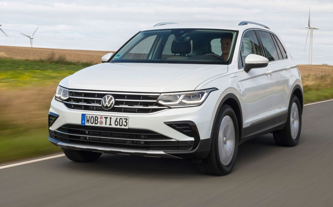 Plug-In Hybrid Volkswagen Tiguan Is Now Available For the Very 1st Time