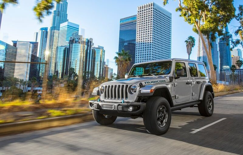 2021 Jeep Wrangler 4xe Specs and Prices Announced