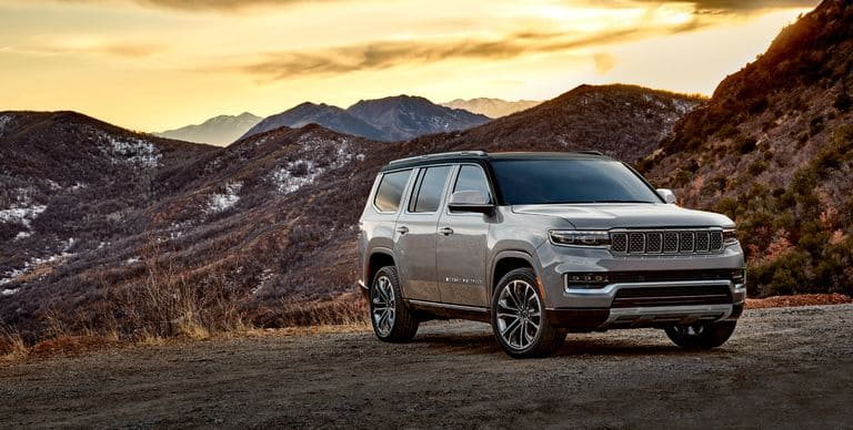 Production-Ready Jeep Wagoneer and Grand Wagoneer Officially Debut