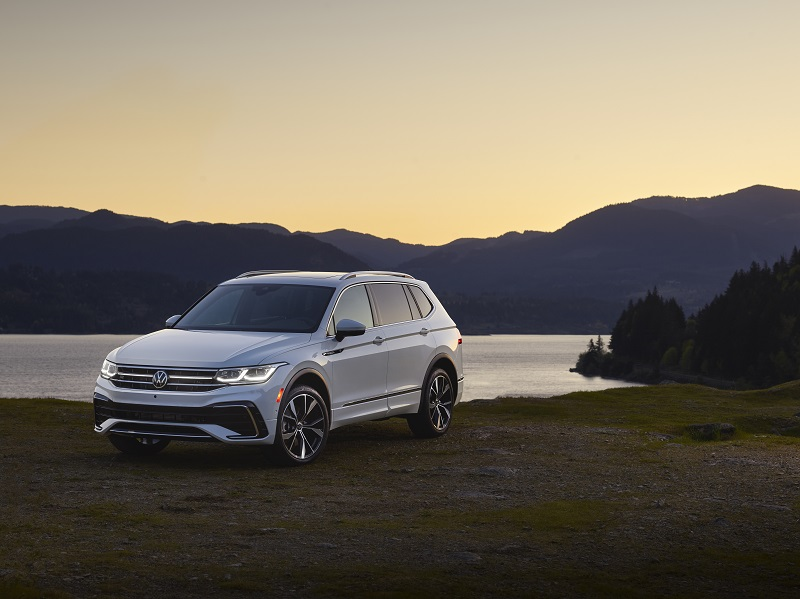 Refreshed U.S.-spec 2022 Volkswagen Tiguan Unveiled: What's New?