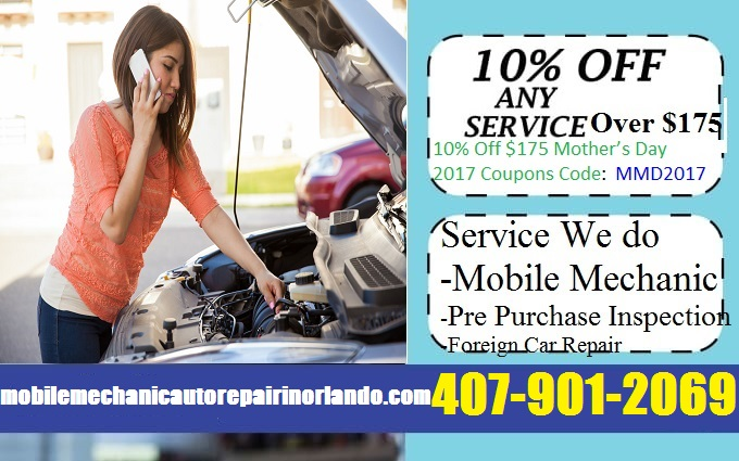 Mobile Mechanic Orlando Auto Car Repair Coupons Discount Codes