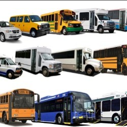heavy duty commercial buses and shuttle