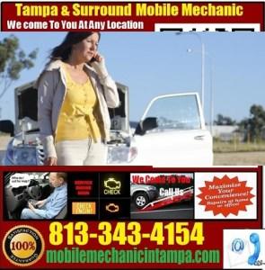 Mobile Mechanic Tampa FL Pre Purchase Auto Car Inspection