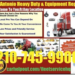 San Antonio heavy duty semi truck and equipment repair service