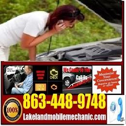 mobile Mechanic lakeland florida Roadside Assistance Service