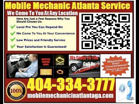 Mobile Mechanic In Atlanta Auto Car Repair Service