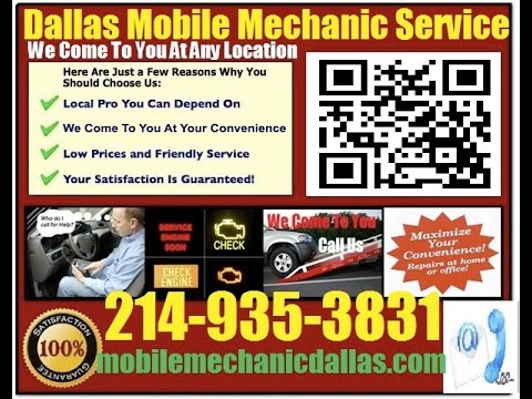 Mobile Mechanic In Dallas TX Auto Car Repair Service